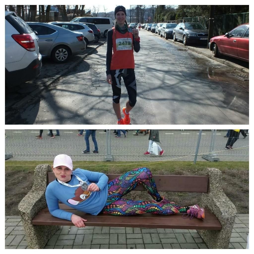 trenerka biegania Kamila Pobłocka-Dobrowolska druga w Półmaratonie Marzanny w Krakowie, Anna Szlendak rekord życiowy w półmaratonie w Gdyni