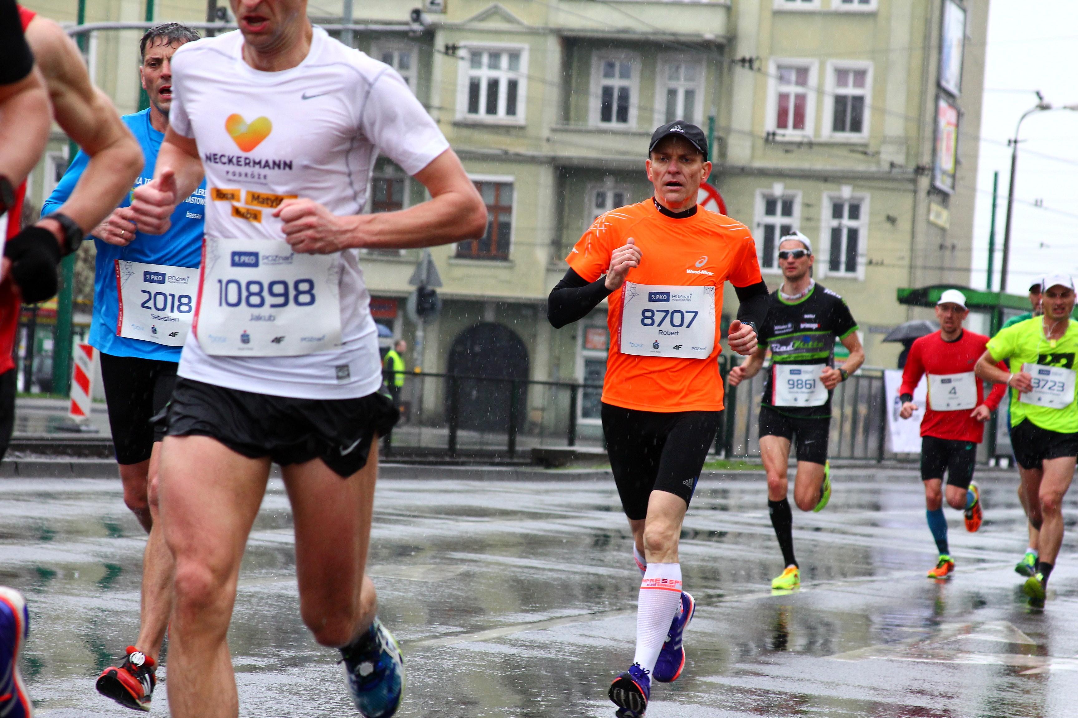 Robert Bagiński - dobry bieg zawodnika trenującego u Emila na Maniackiej Dziesiątce w Poznaniu