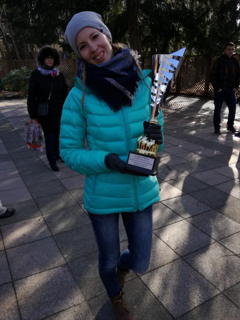 trenerka Kamila Pobłocka-Dobrowolska drugie miejsce w Biegu Zaślubin w Kołobrzegu