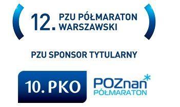 Starty zawodników grupy biegowej w półmaratonach w Warszawie i Poznaniu