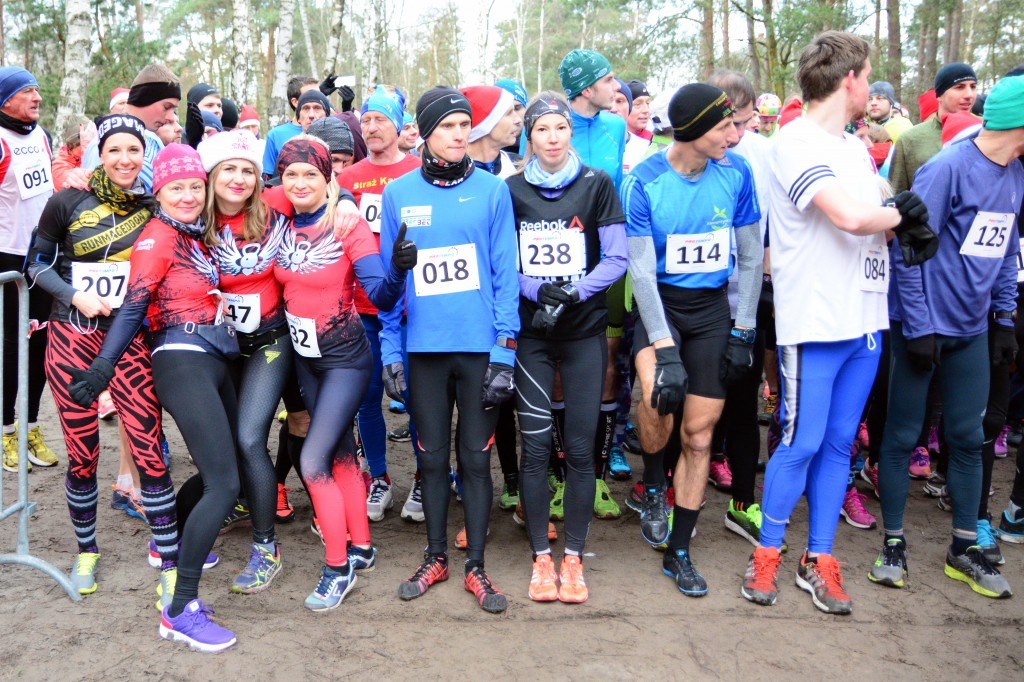 trenerzy biegania i zawodnicy startowali na biegach. Roztrenowanie rozpoczęte