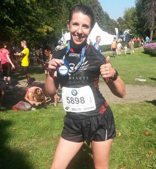 Aneta Duda - zawodniczka grupy biegowej