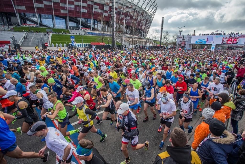 Orlen Warsaw Marathon 2018 start
