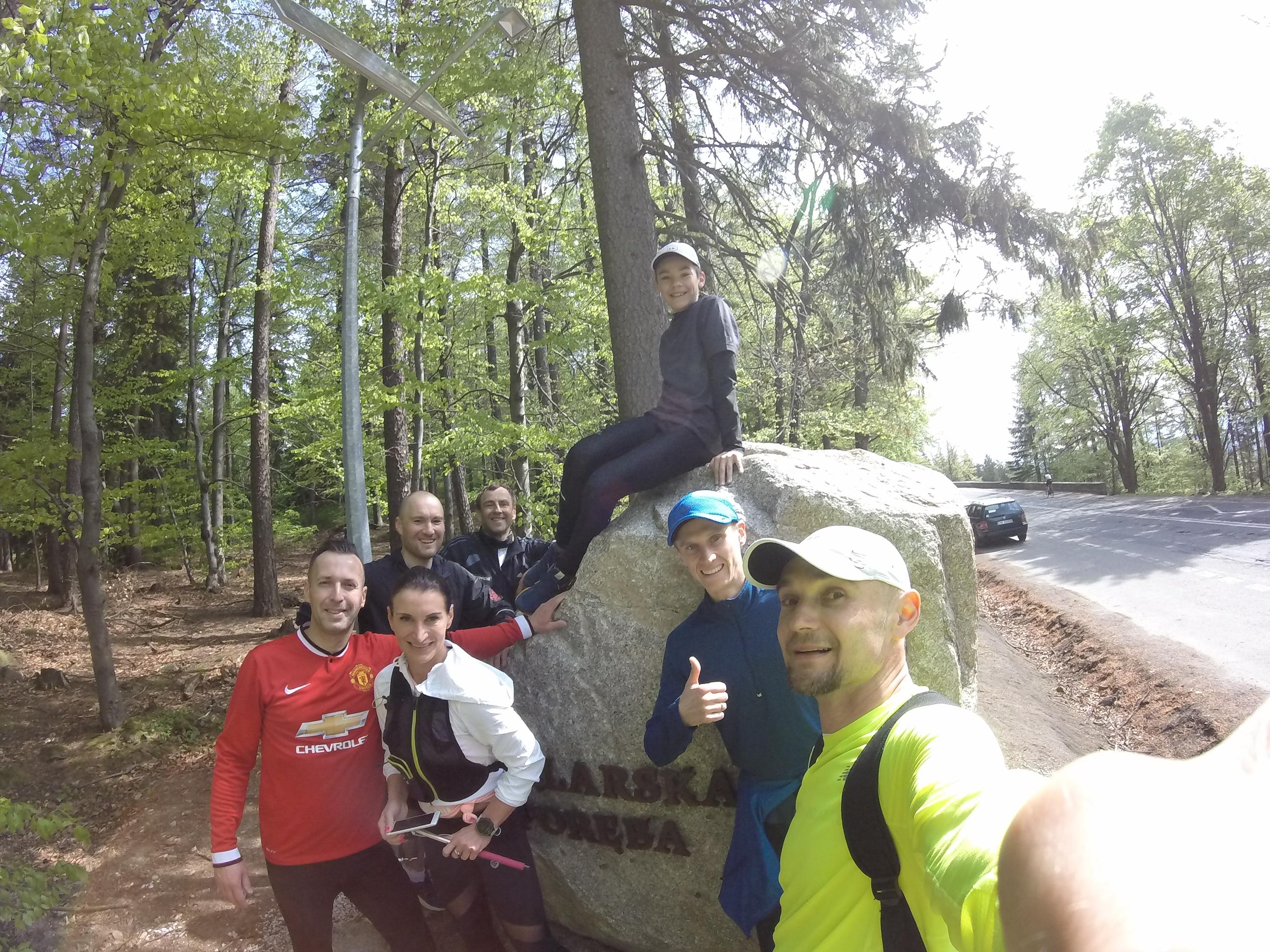 Obóz biegowy Szklarska Poręba maj 2018 - trener biegania Emil Dobrowolski
