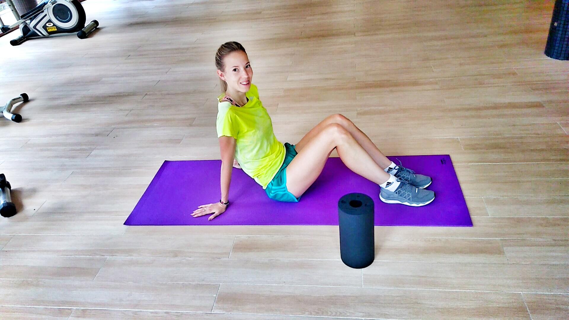 Rolowanie mięśni - trener biegania