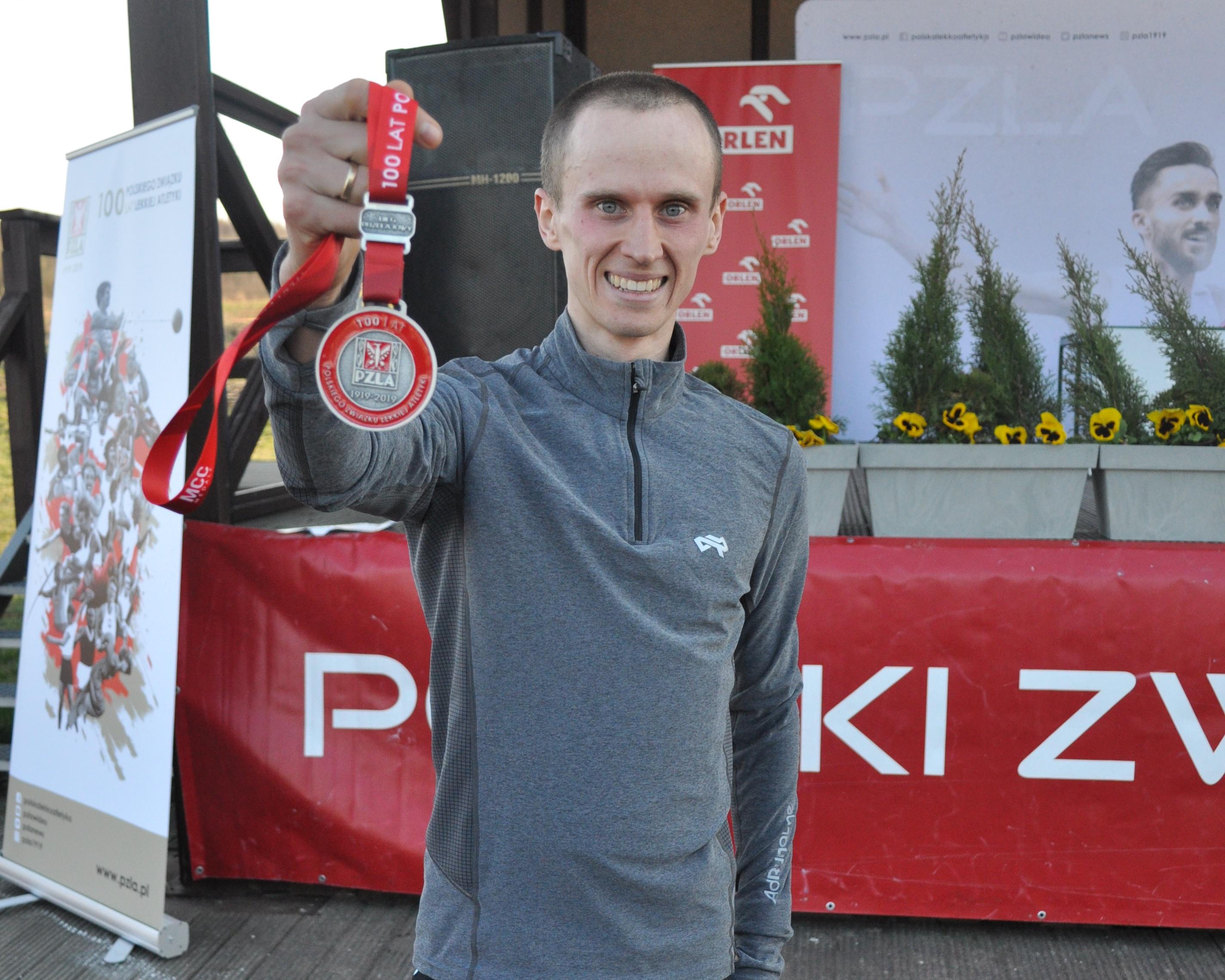 relacja z Mistrzostw Polski w biegach przełajowych Olszyna 2019